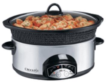 Crock-Pot with Little Dipper