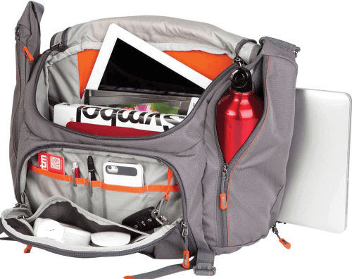 STM Velo 2 Medium Laptop Shoulder Bag interior