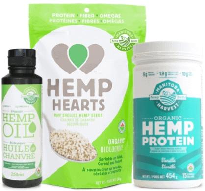Manitoba Harvest Organic Hemp Starter Pack