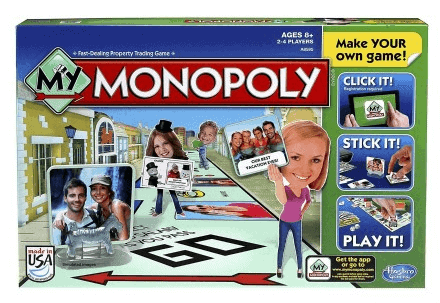 New Personalized My Monopoly Game