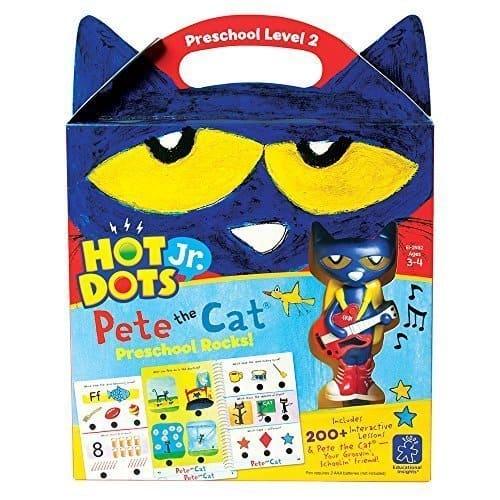 Educational Insights Hot Dots Jr. Pete the Cat Kit