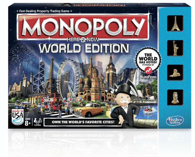 Hasbro Monopoly World Edition