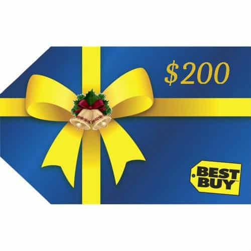 Best Buy $200 Gift Card #HolidayGiftGuide