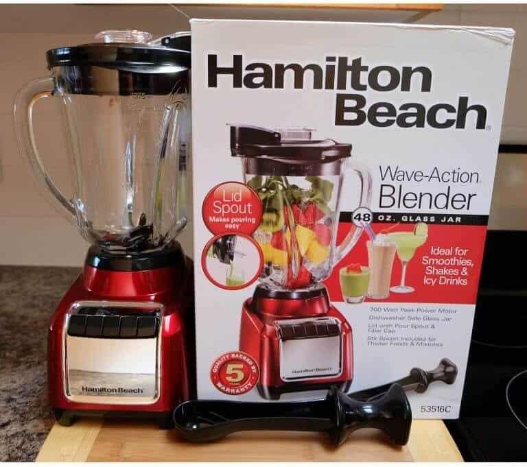 Hamilton Beach Wave-Action Blender