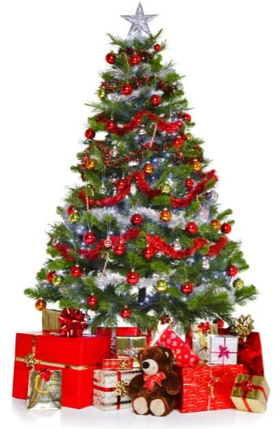 Ideas for Decorating a Christmas Tree Without Getting Gaudy