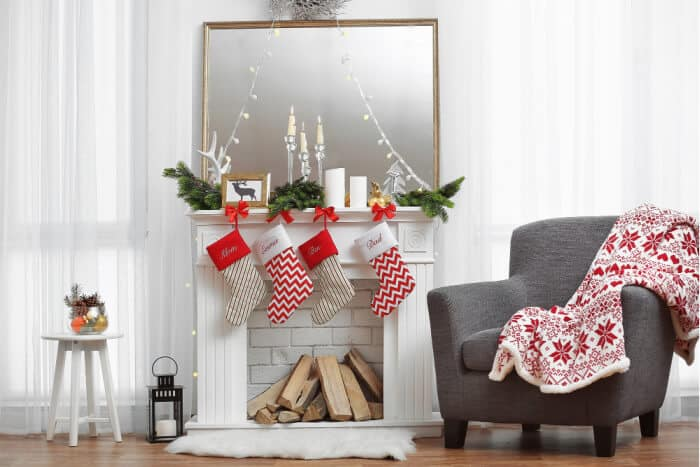 Hanging Holiday Stockings with Care