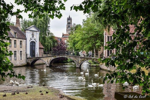 Bruges, a Fairy Tale Place in Belgium