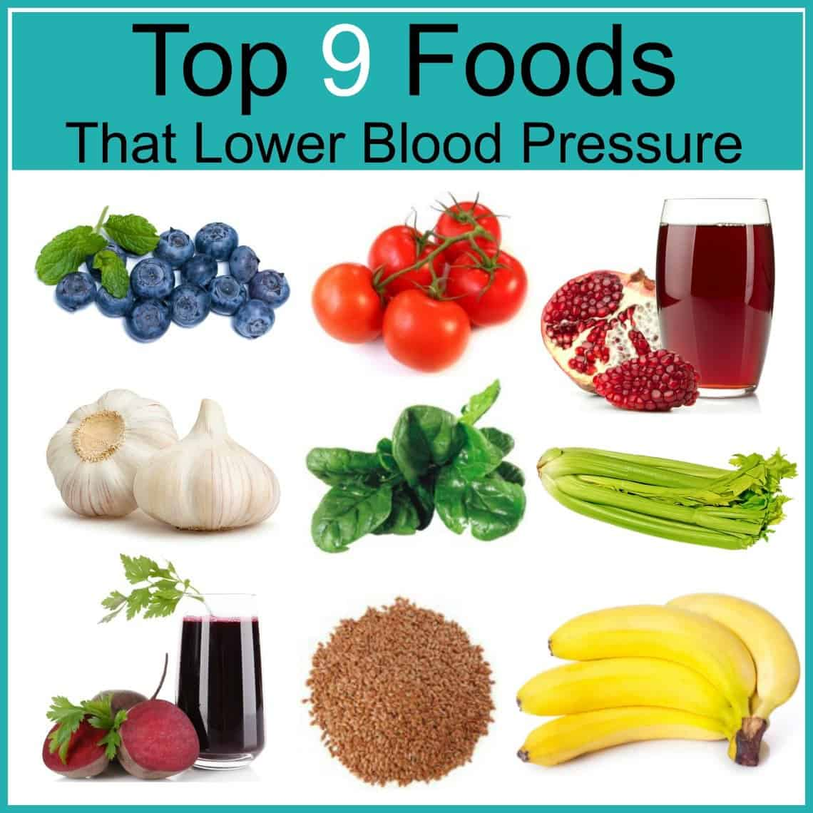 List Of Foods That Lower Blood Pressure Naturally