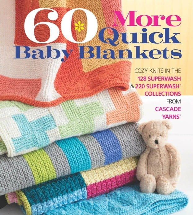 60 More Quick Baby Blankets to Knit