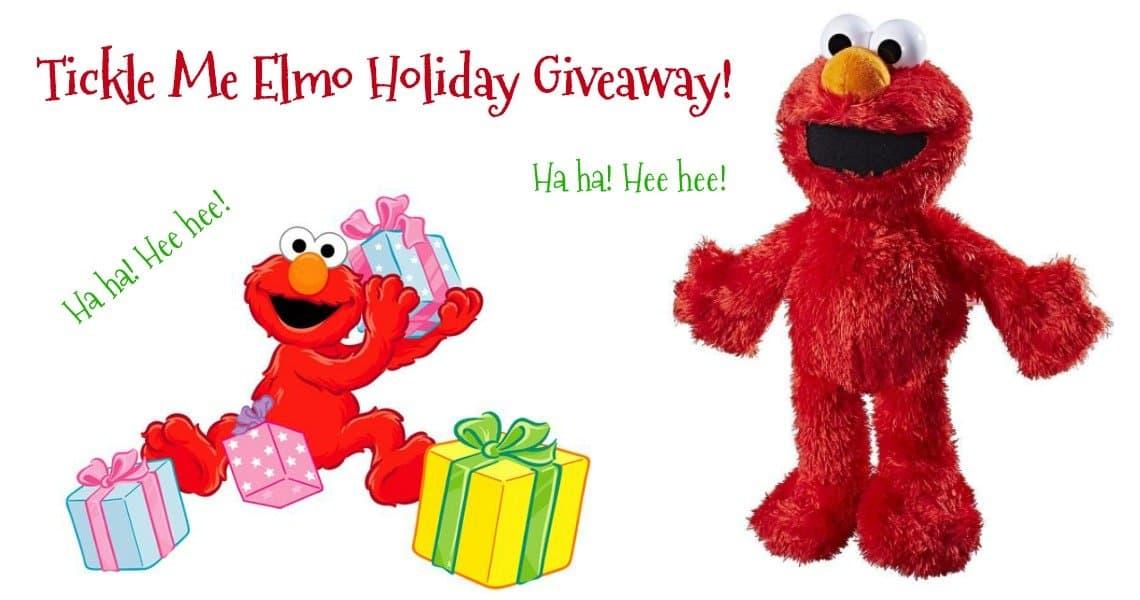 Sesame Street Tickle Me Elmo Plush Toy #HGG