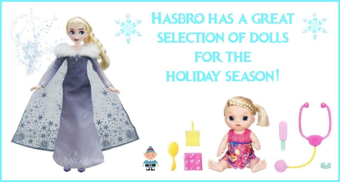 Disney Frozen Musical Elsa & Plus Baby Alive Dolls
