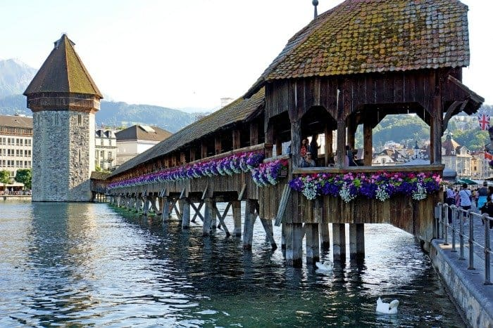 Picturesque Villages Along Lake Lucerne, Switzerland
