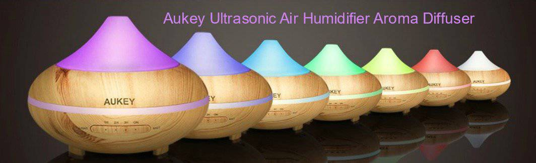 Aukey Ultrasonic Air Humidifier Aroma Diffuser