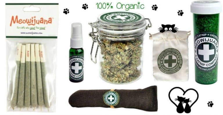 Meowijuana 100% Organic Catnip