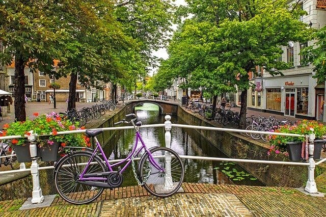Delft, Netherlands, a Canal Paradise