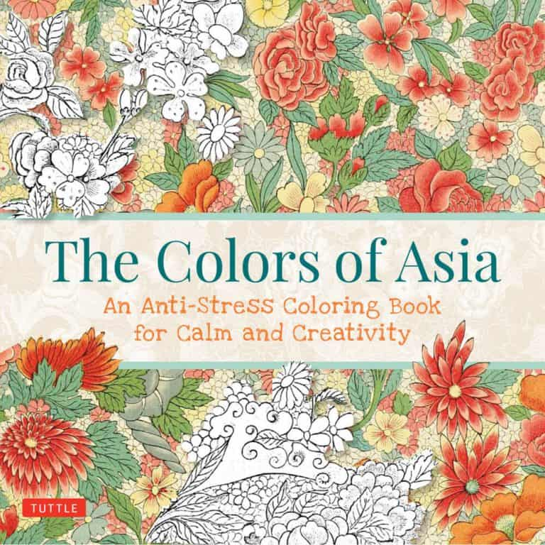 Asian Inspired Coloring Books