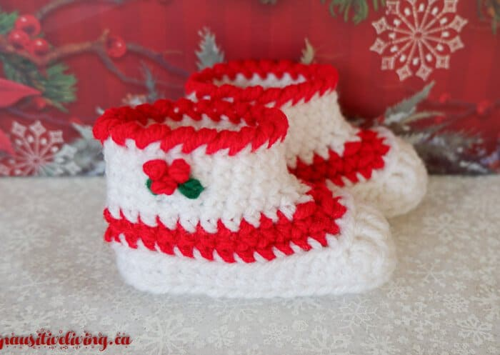 Christmas Slippers for Babies