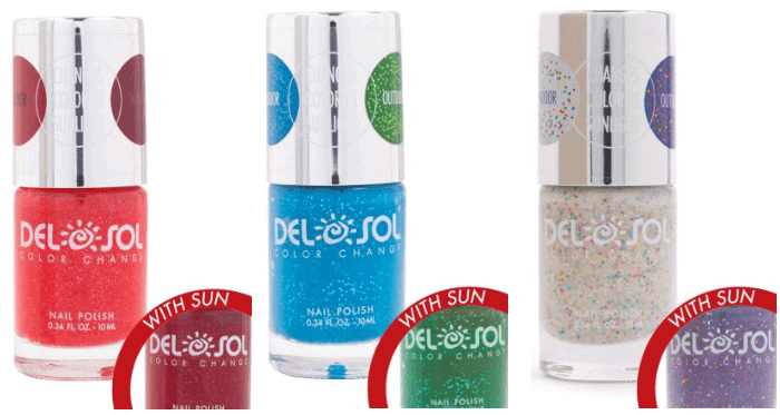 Del Sol Color Change Nail Polish