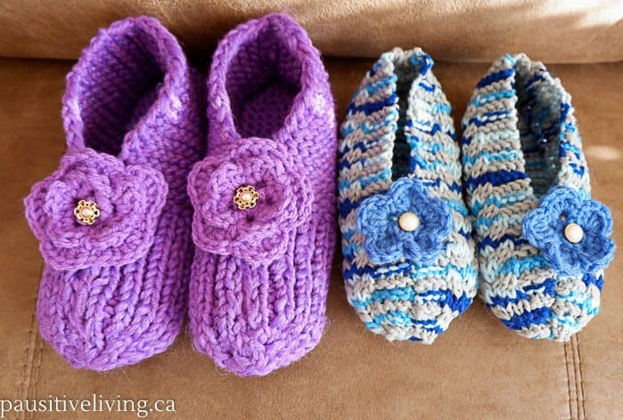 Cozy Slippers for the Holidays