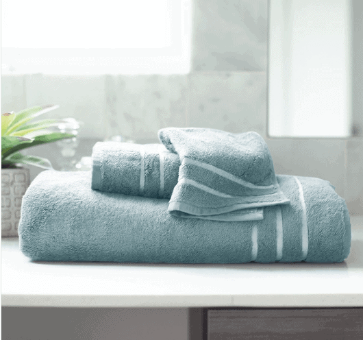 Bamboo Towel Set in teal