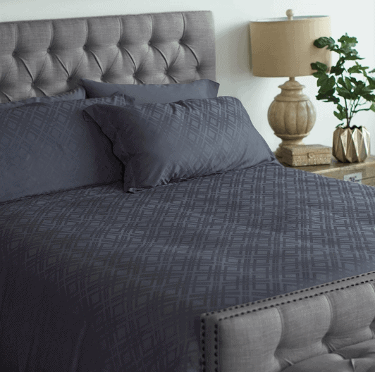 Bamboo Duvet Cover in Grey