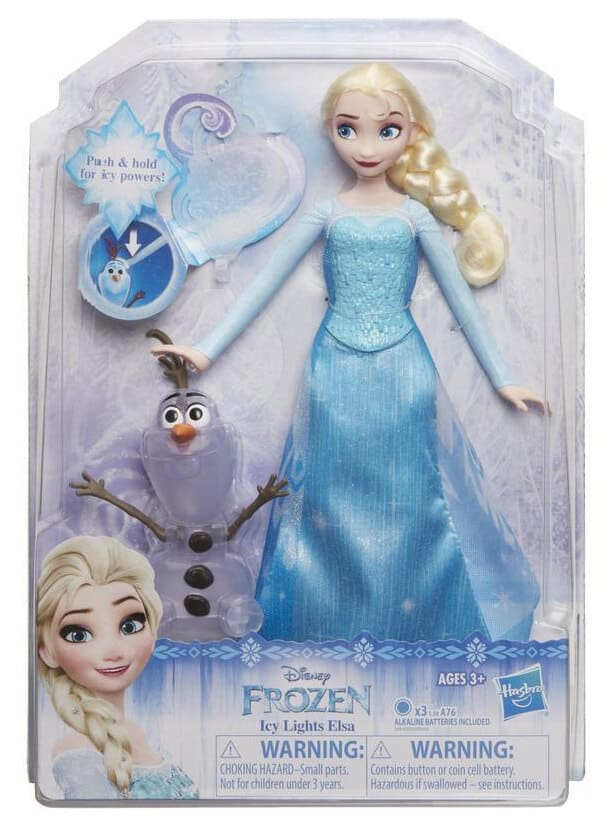 Frozen Icy Lights Elsa Doll #HGG
