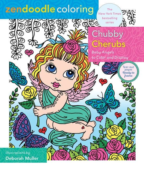 Zendoodle Coloring Books