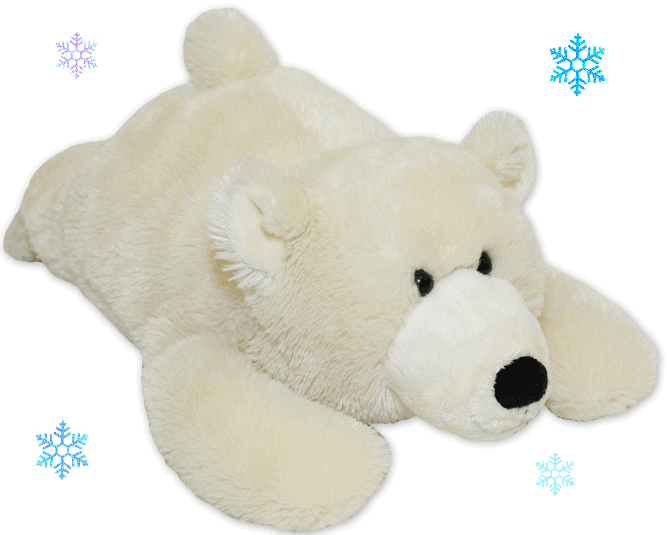 Warm Buddy Polar Bear