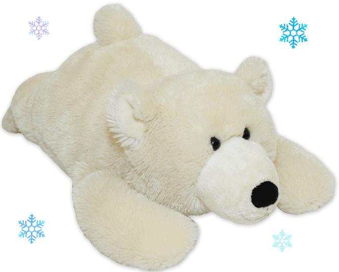 Warm Buddy Polar Bear