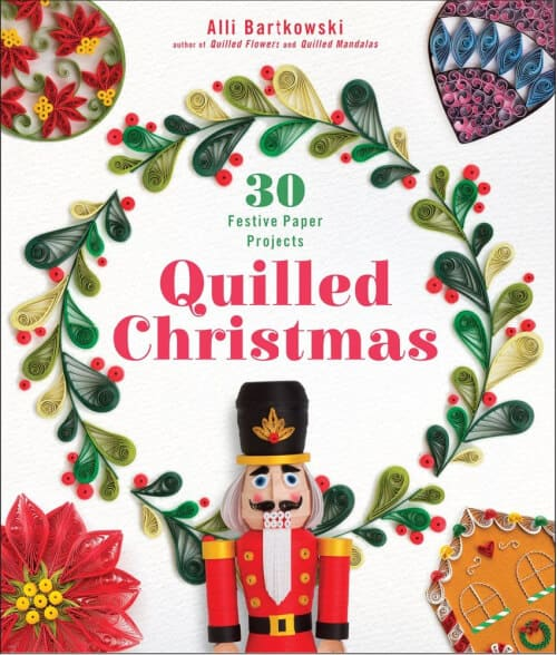 Quilled Christmas craft book