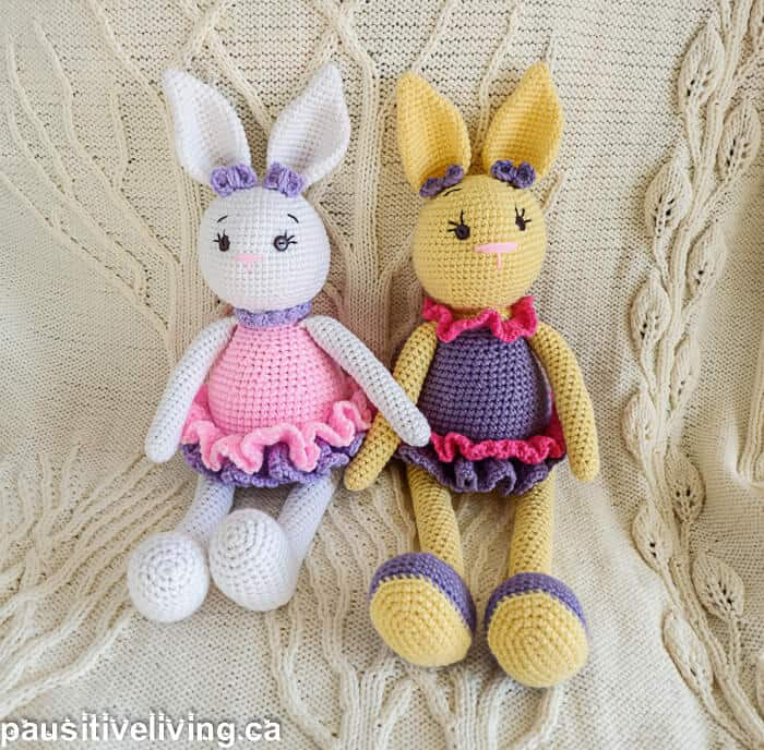 Adorable Crocheted Easter Bunny Pattern