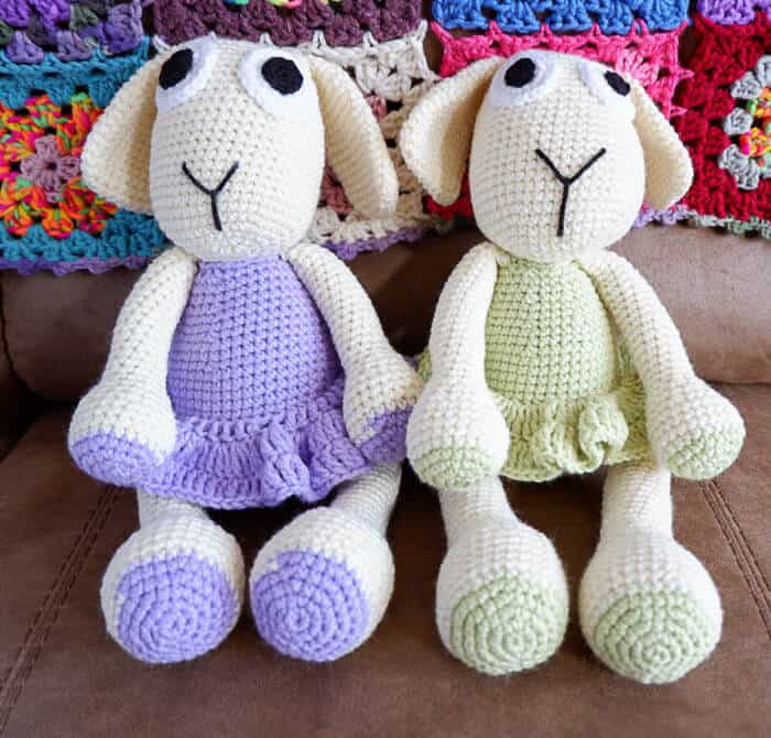 Crocheted Easter Lamb Pattern