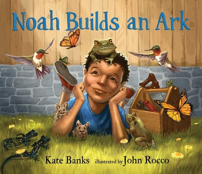 Noah Builds an Ark storybook