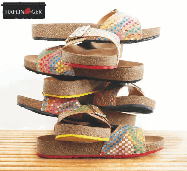 Haflinger Cork Footwear