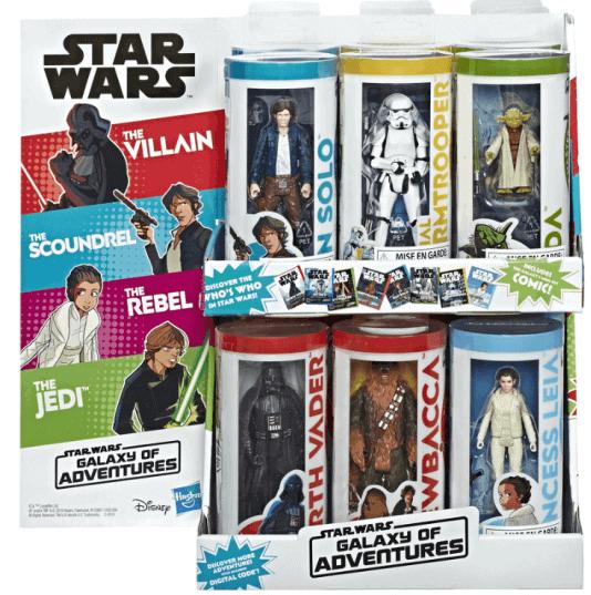 Star Wars Galaxy of Adventure Toys