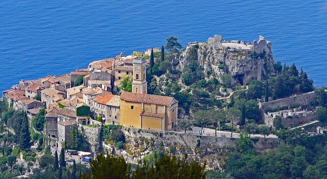 Eze Rock Fortress, France