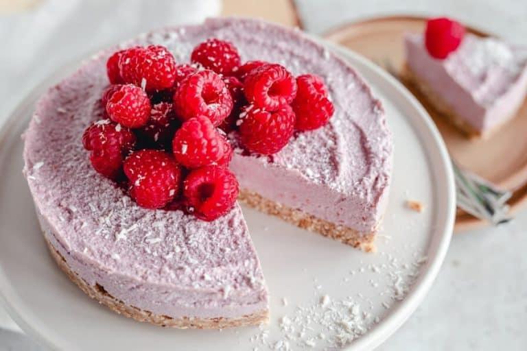 Vegan Raspberry Coconut Cheesecake Recipe
