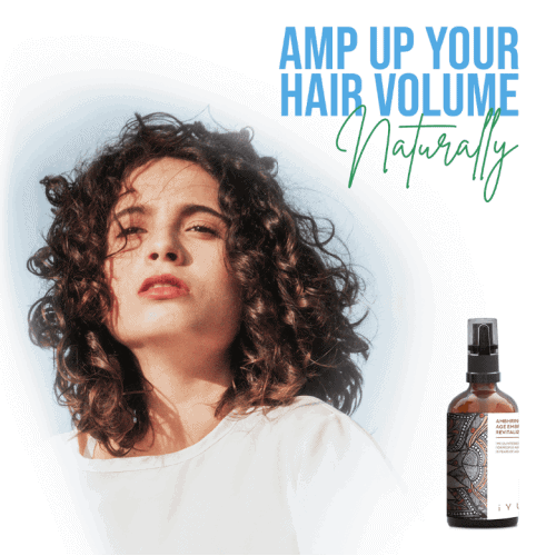 Ambhring Age Embrace Revitalizer and Hair Oil, Plus L-Lysine for Thinning Hair