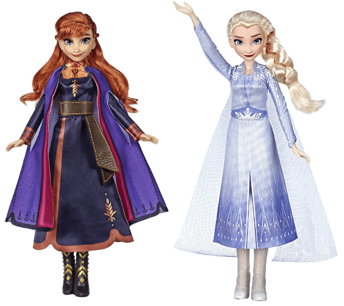 Disney Frozen 2 Fashion Dolls
