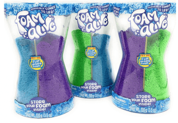 Foam Alive toy
