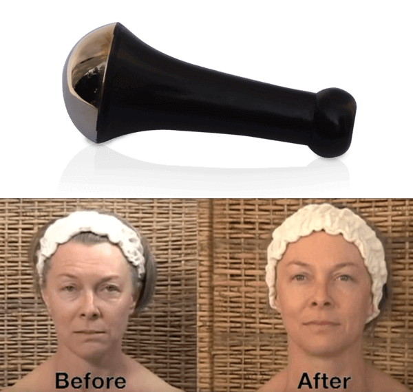 Kansa Wand for Face & Body, plus Free Kesaradi Oil