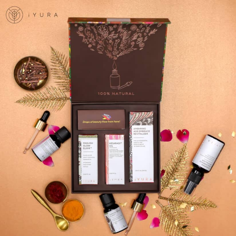 iYura Head-Turner Trio for Luscious Skin & Hair