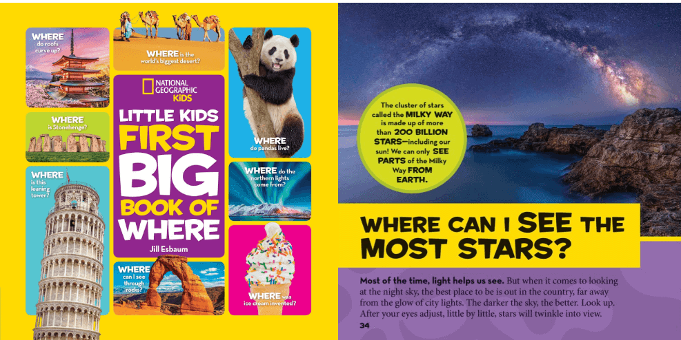 National Geographic, Little Kids First BIG Book of Where