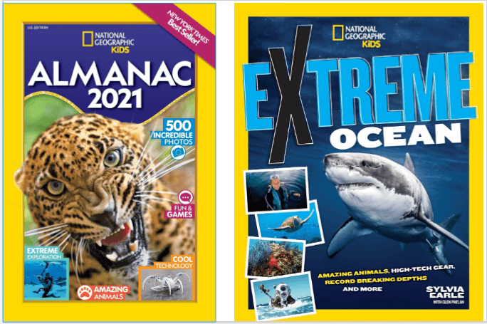 National Geographic Kids Summer Boredom-Busting & Brain-Boosting Books