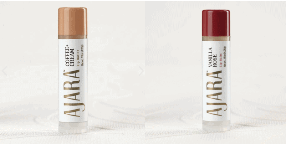 Ajara Organic Lip Balms for Summer Hydration