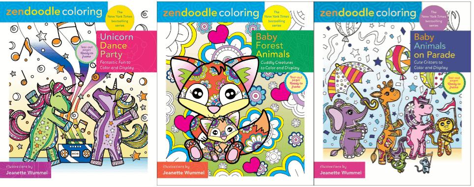 Zendoodle Coloring Books