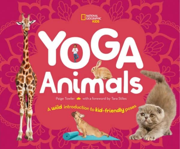 National Geographic Yoga Animals book