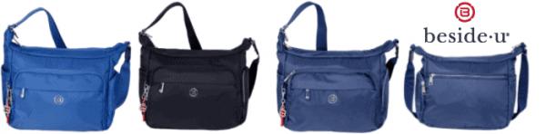 Beside U Angel handbag available in 3 colors.