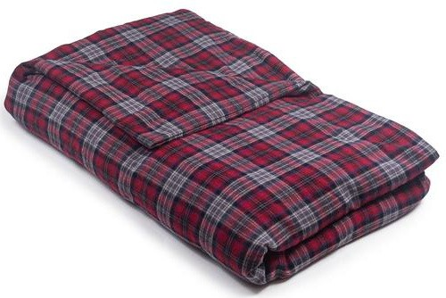 Magic Blanket Red Plaid Flannel