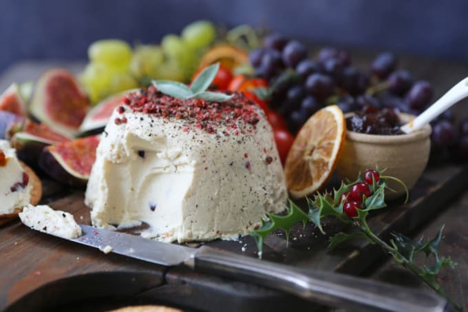 Viva Deliciously Vegan Christmas Guide, plus Cranberry 'Boursin' Style Cheese Recipe